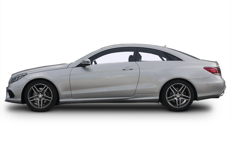 New mercedes benz e class diesel coupe e350d amg line for New mercedes benz 2 door