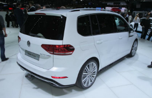 2016 Volkswagen Touran Rear