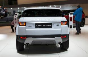 Land Rover Evoque Rear Shot