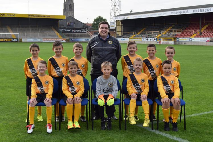 Boston United U9s