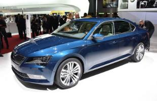 Skoda Superb Front Shot