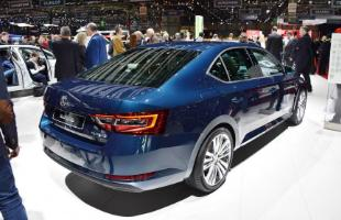 Skoda Superb Rear Shot