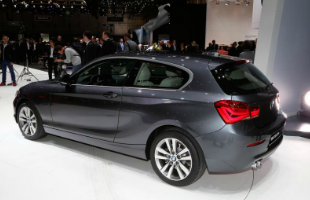 Facelifted BMW 1 Series Rear Side