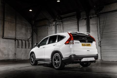 Honda CR-V has now been released in two special editions, the black ...