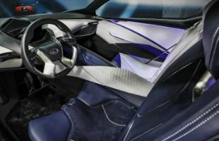 Lexus LF-SA Interior Shot