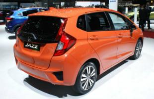 Honda Jazz Rear Shot