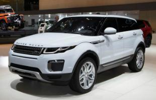 Land Rover Evoque Front Shot