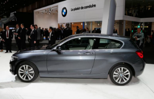 Facelifted BMW 1 Series Side