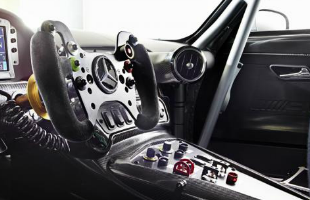 Mercedes-Benz AMG GT3 Interior