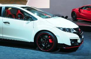 Honda Civic Type R Side
