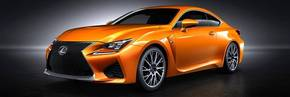Lexus Facebook Fans name the Lexus RC F colour 'Solar Flare'
