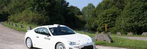 Toyota GT86 CS-R3 Rally Car Debut