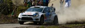 Volkswagen triumphs in WRC home event
