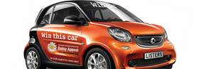 Win a new smart fortwo passion