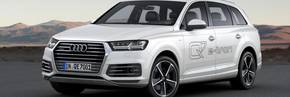 New Audi Q7 e-tron revealed at Geneva