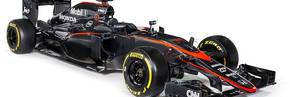 McLaren-Honda revised livery debuted in Spain