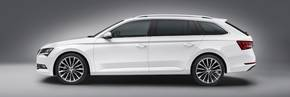 New ŠKODA Superb Estate - first pictures released