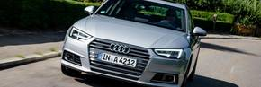 The new A4 excels in its first test drive reviews