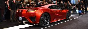 First production model of all-new Acura NSX