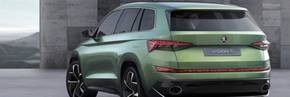Skoda VisionS concept - see the first pictures