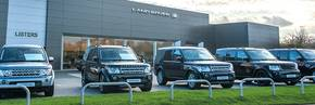 Listers Land Rover Hereford's clean sweep of awards!