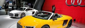 R8 Spyder Revealed At New York Motor Show