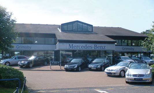 Mercedes-Benz of Grimsby, Laceby Crossroads, Laceby, Grimsby, North East Lincolnshire, DN37 7LG