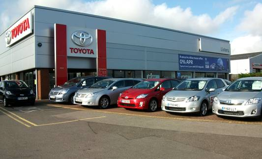 Listers Toyota Lincoln, Outer Circle Road, Lincoln, Lincolnshire, LN2 4JA