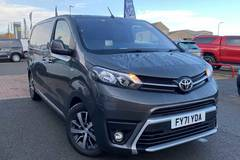Approved Used Toyota Proace Light Commercial Vehicles