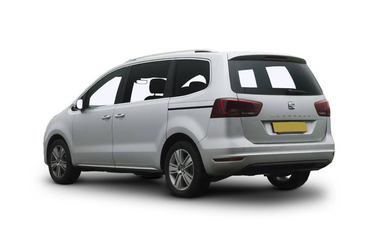 SEAT Alhambra Estate 5dr Rear Three Quarter