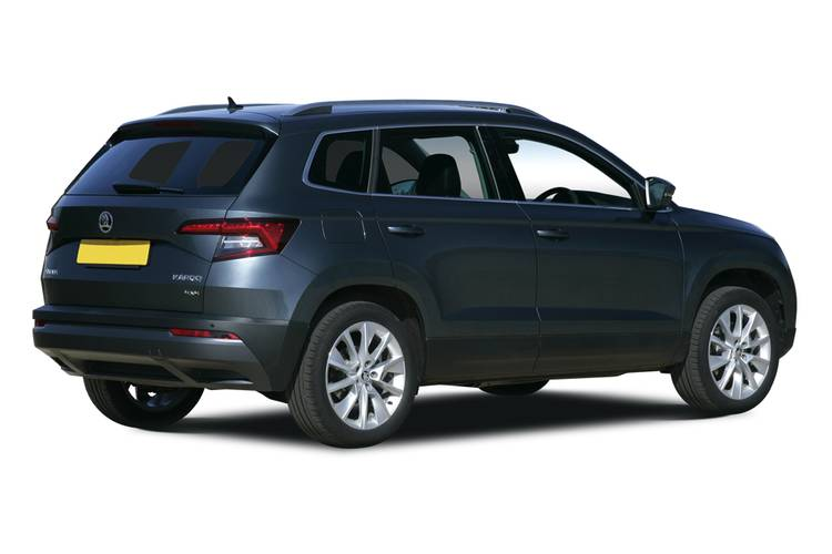Skoda Karoq Estate 5dr Rear Three Quarter
