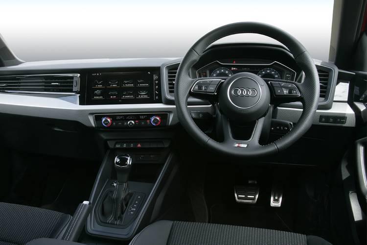 Audi A1 Sportback 25 Tfsi Technik 5 Door S Tronic On Motability