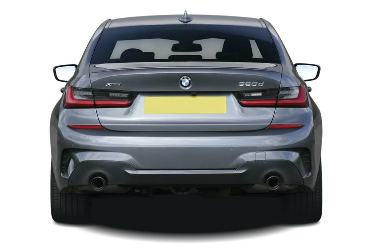 BMW 3 Series Saloon 4dr Rear