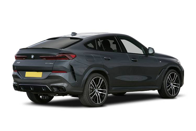 BMW X6 Estate 5dr Auto Rear Three Quarter