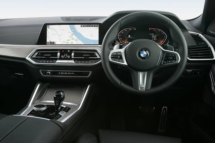 BMW X6 Estate 5dr Auto interior