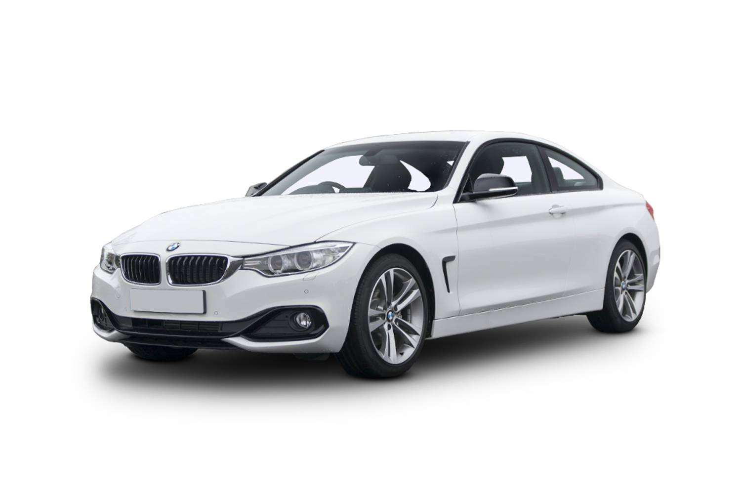 BMW 4 Series Coupe 2dr Front Three Quarter