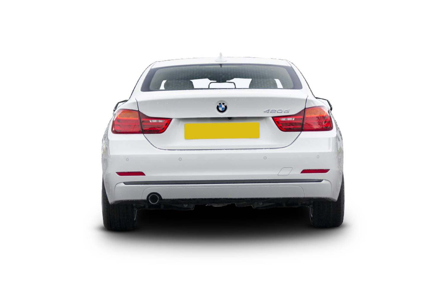 BMW 4 Series Coupe 2dr Rear