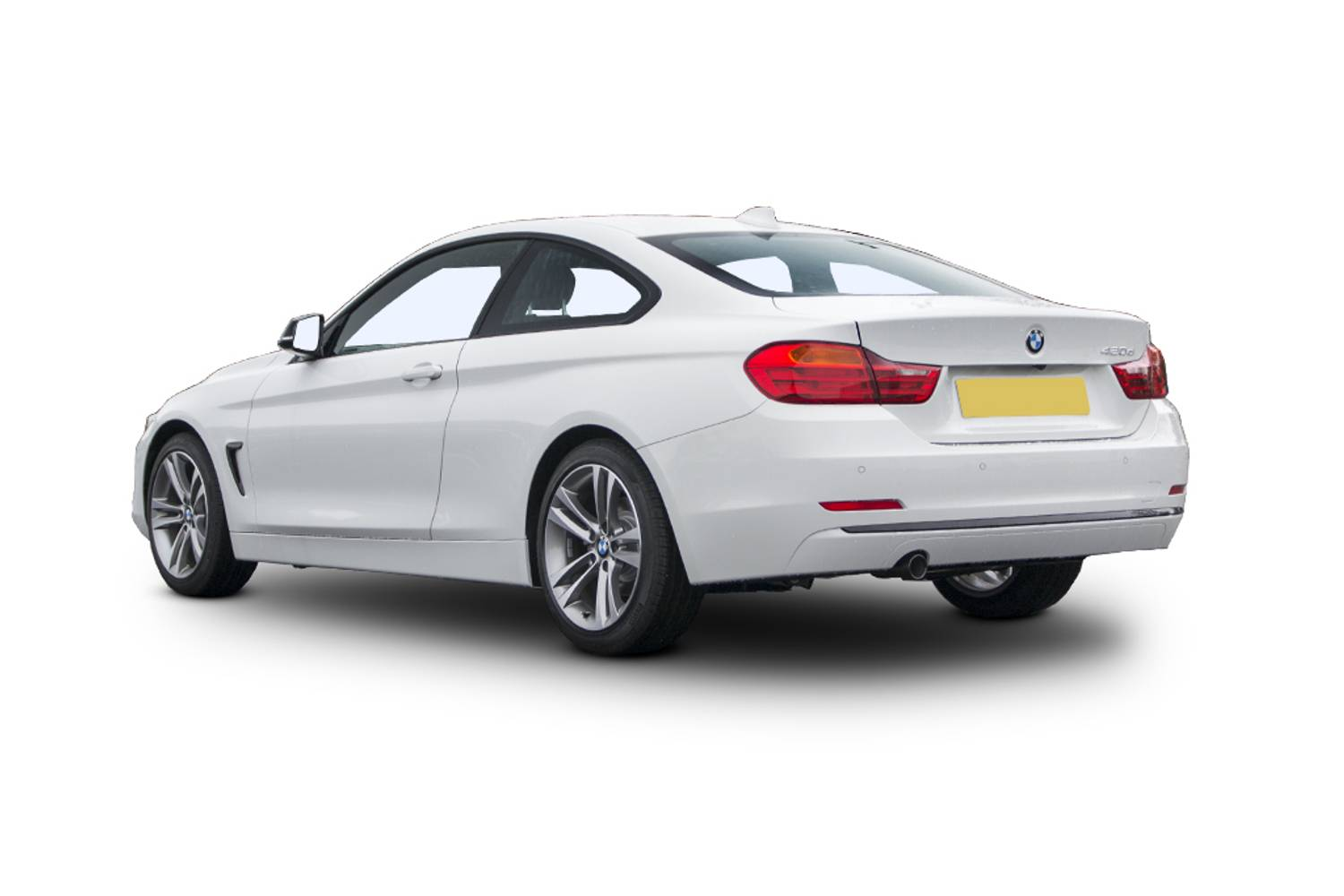 BMW 4 Series Coupe 2dr Rear Three Quarter