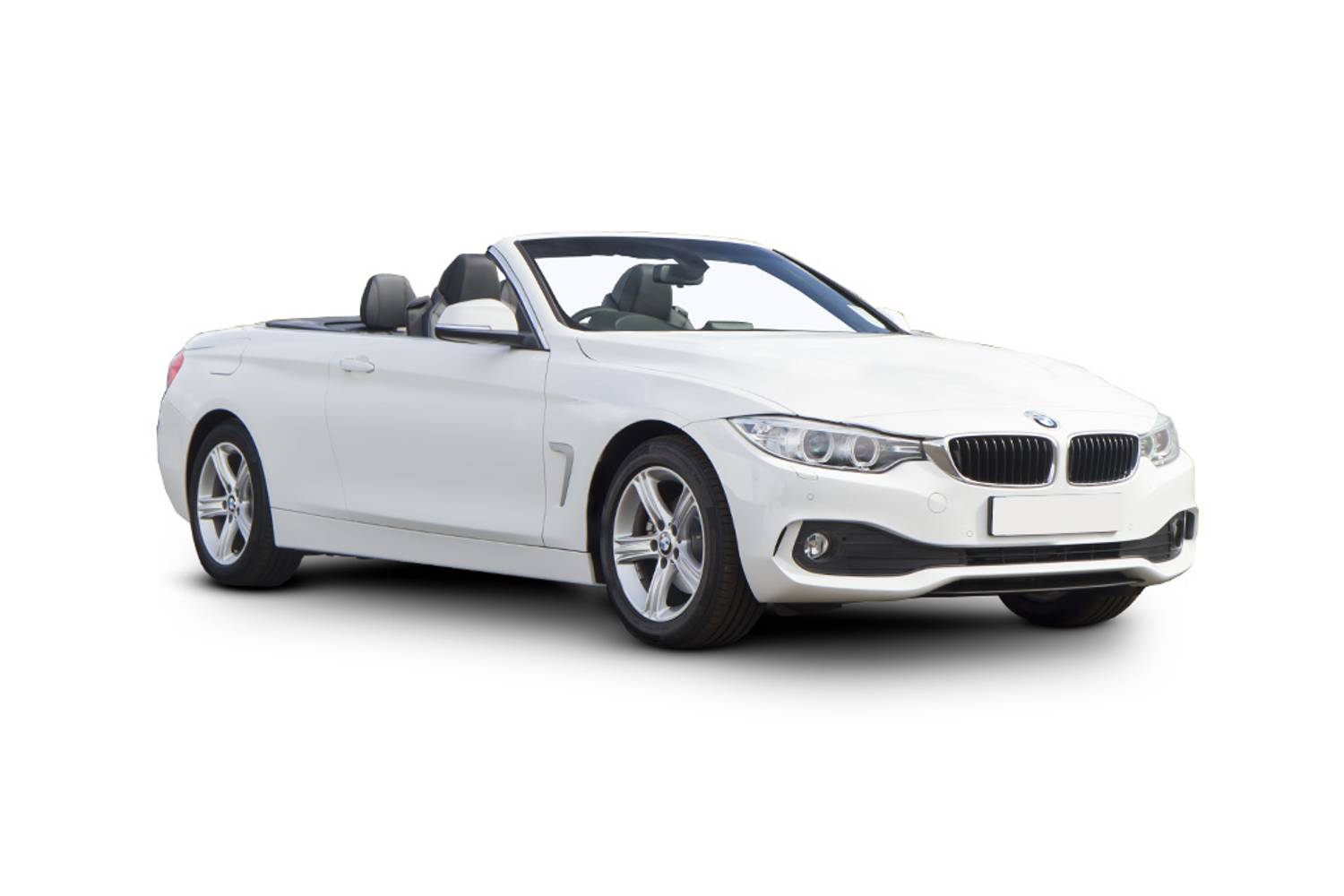 BMW 4 Series Convertible 2dr Front Three Quarter