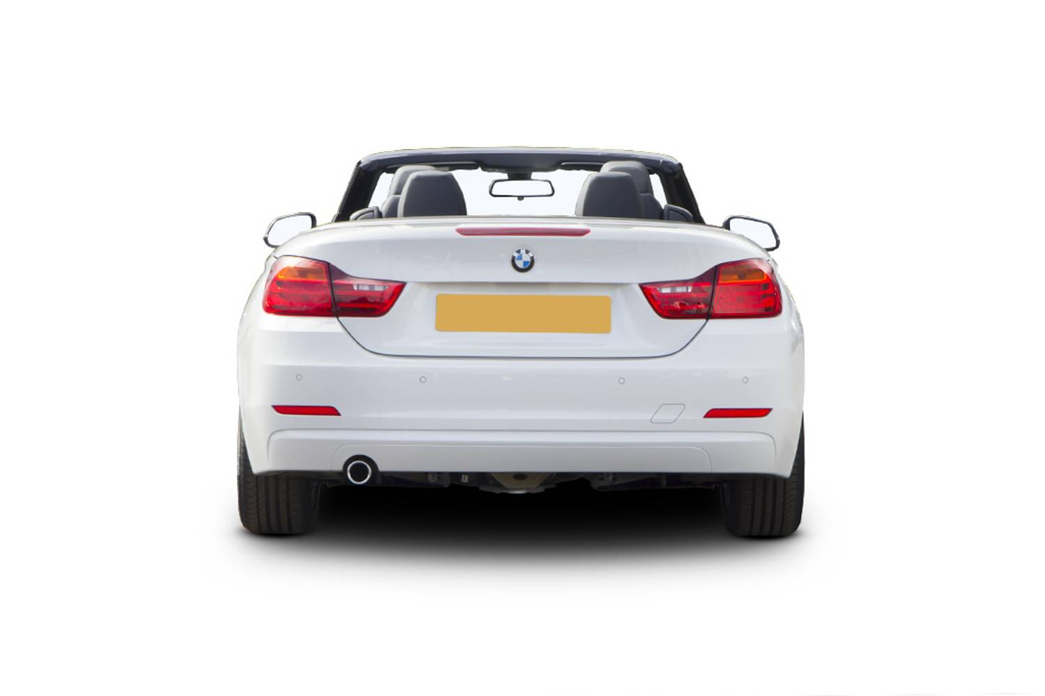 BMW 4 Series Convertible 2dr Rear