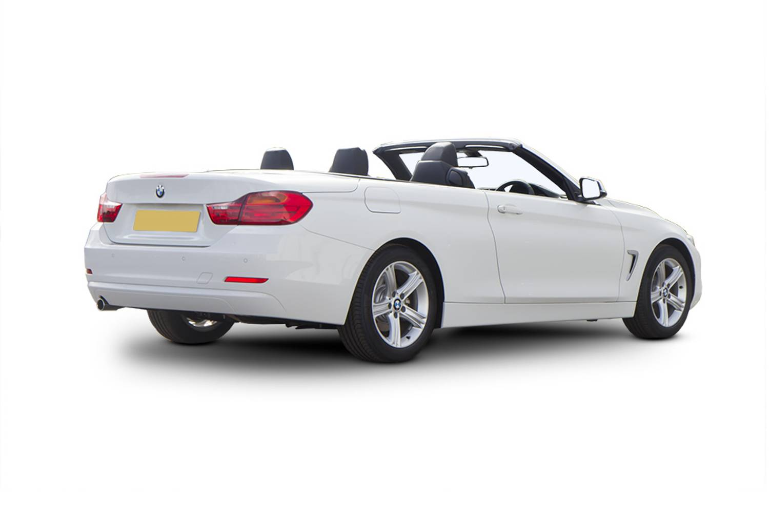 BMW 4 Series Convertible 2dr Rear Three Quarter