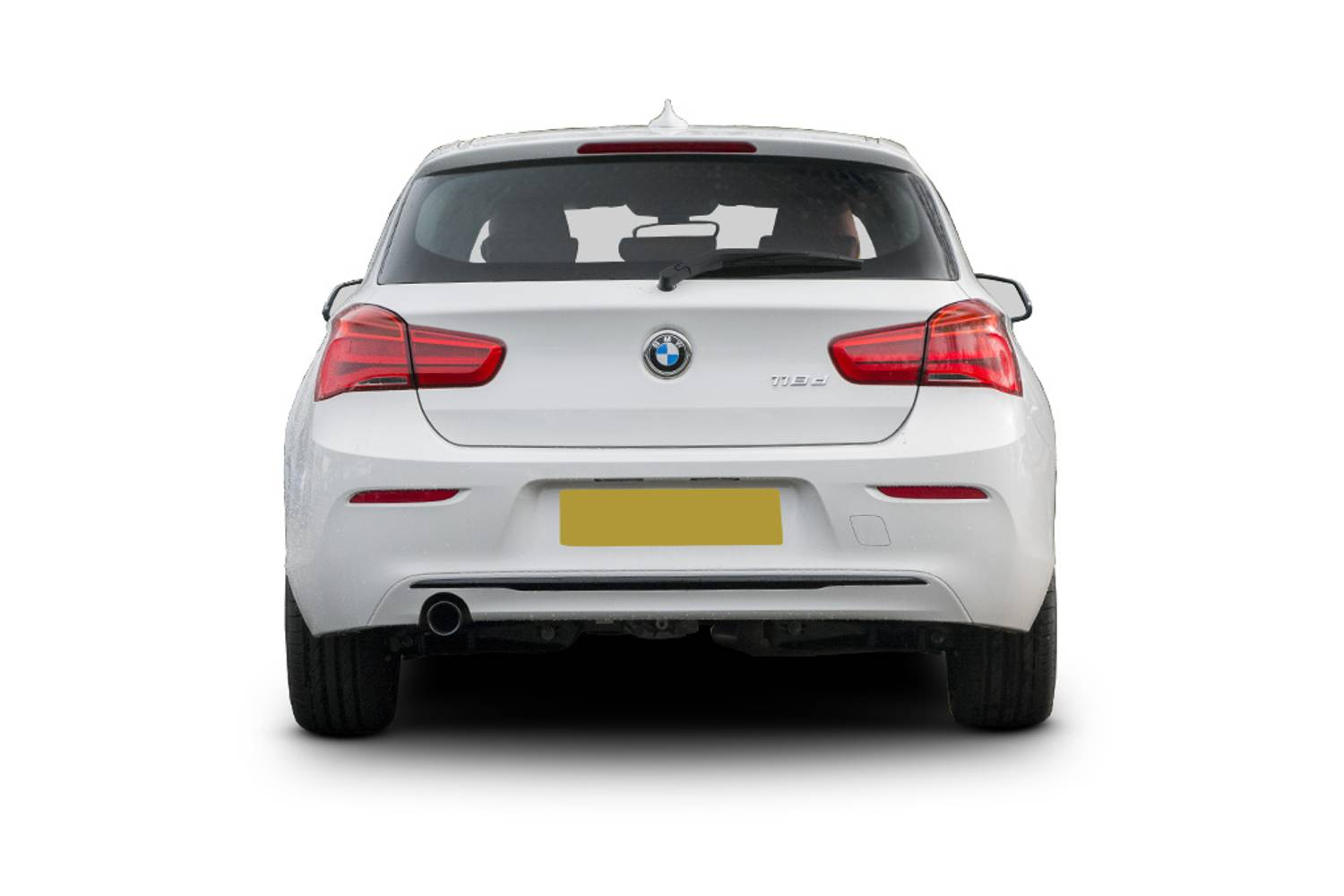 BMW 1 Series Hatchback 3dr Rear