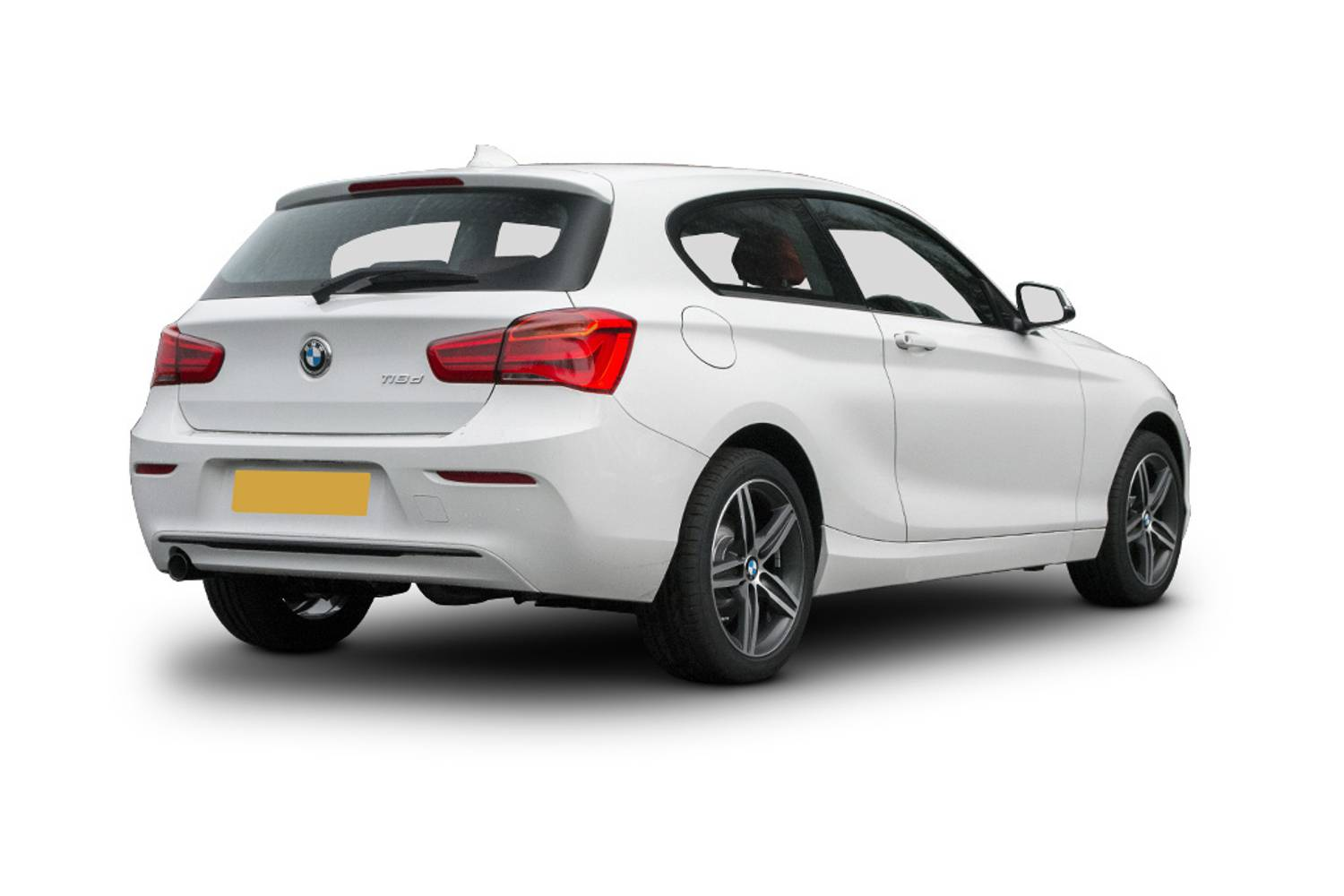 BMW 1 Series Hatchback 3dr Rear Three Quarter