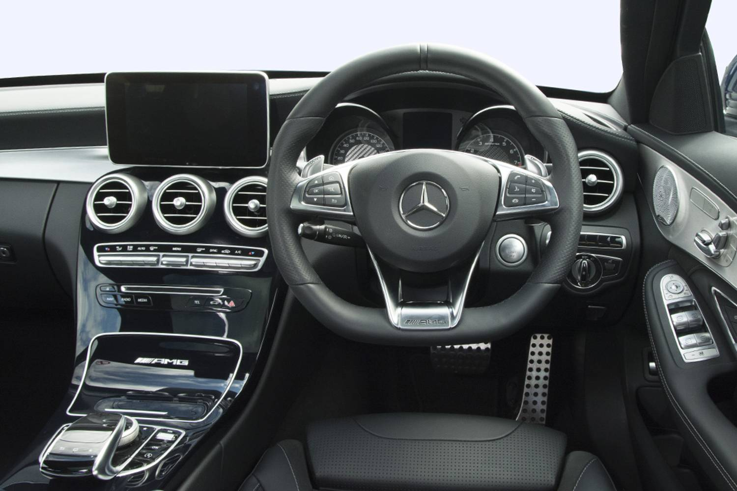 new mercedes benz c class amg saloon c43 4matic premium plus 4 door auto 2016 for sale. Black Bedroom Furniture Sets. Home Design Ideas
