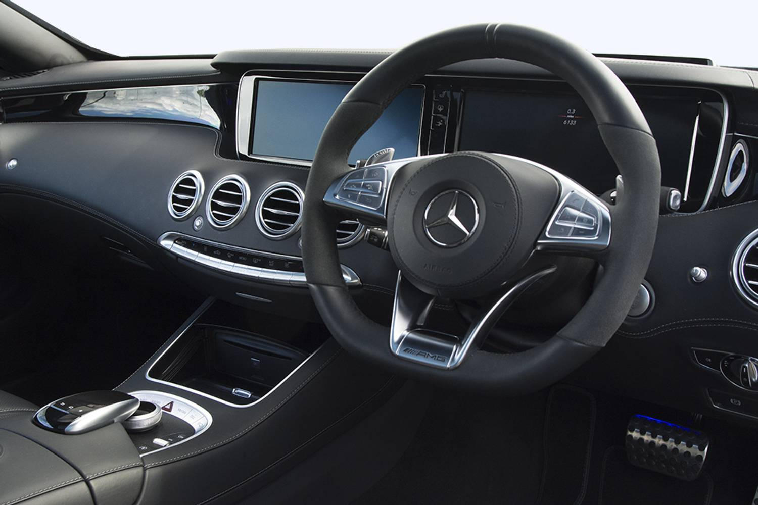 New mercedes benz s class amg coupe s65 2 door auto 2014 for Mercedes clase a amg interior