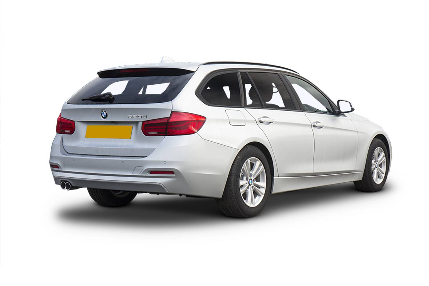 BMW 3 Series Touring 5dr Rear Three Quarter
