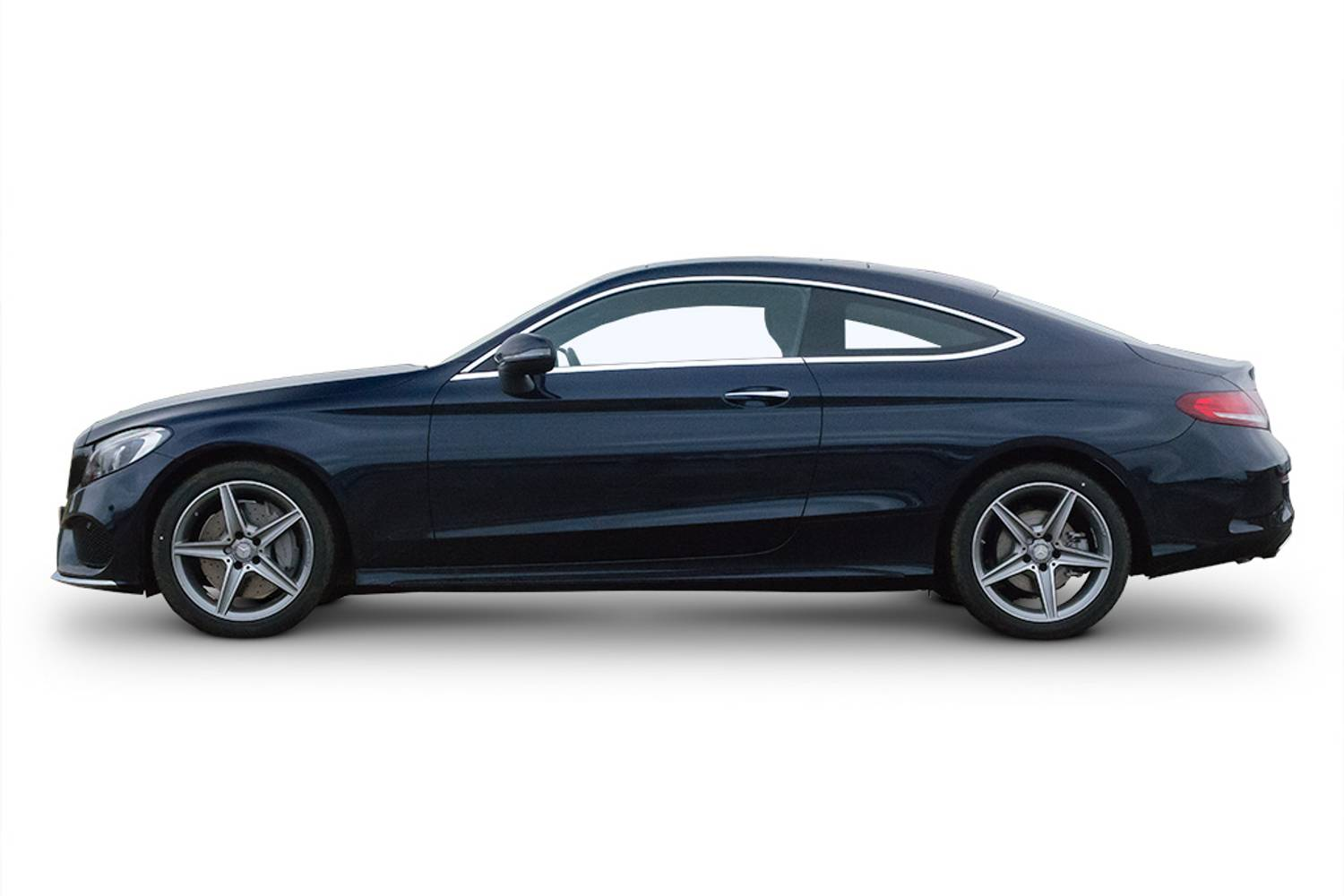 New mercedes benz c class diesel coupe c220d amg line 2 for Mercedes benz 2 door coupe for sale