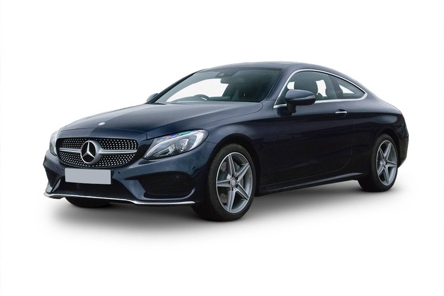 New mercedes benz c class diesel coupe c220d amg line for Mercedes benz 2 door coupe for sale