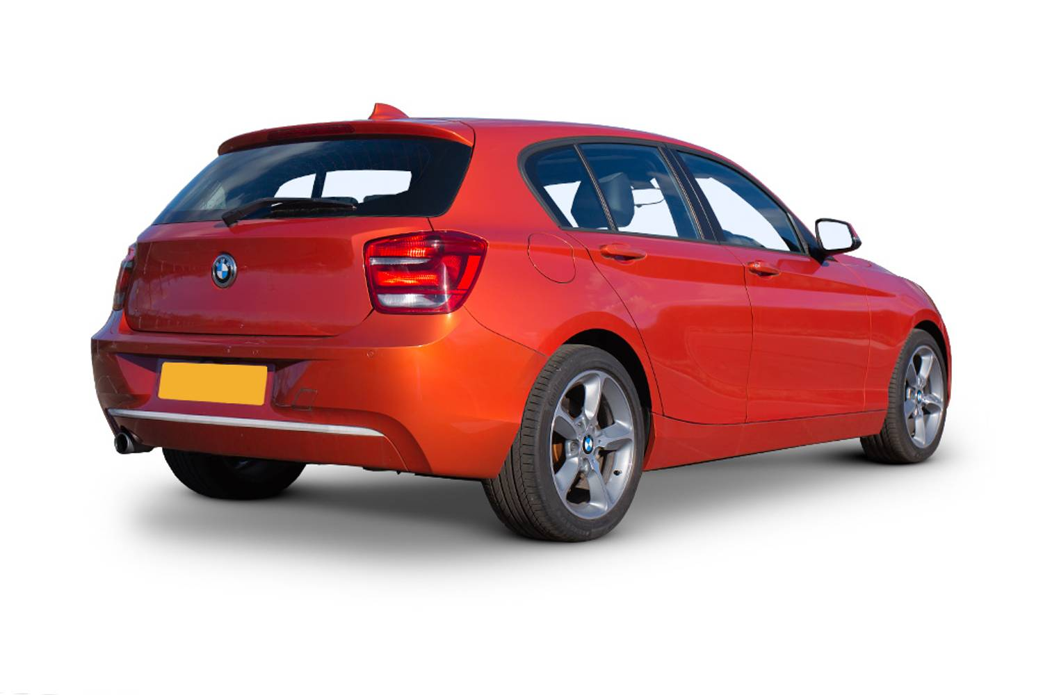 BMW 1 Series Hatchback 5dr Rear Three Quarter