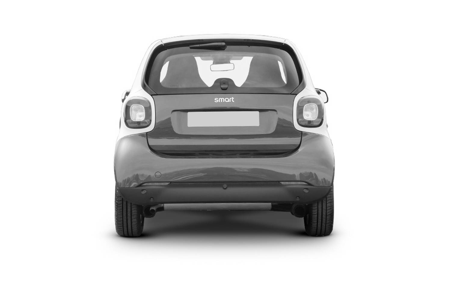 Smart Fortwo Coupe 2dr Rear